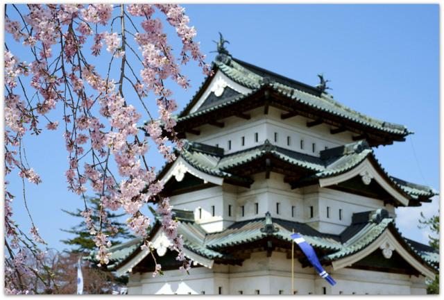 青森県 弘前市 弘前公園 観光 弘前さくらまつり 弘前城 桜 さくら サクラ