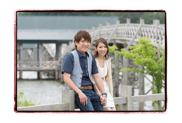 青森県 出張カメラマン ロケーション 写真撮影 公園 エンゲージメントフォト ポートレート 記念写真