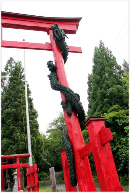 青森県 弘前市 大石神社 赤倉霊場 津軽赤倉神社 神社 写真 霊場