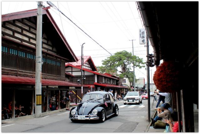 青森県 黒石市 クラシックカー クラブ 青森ミーティング こみせ 重要伝統的建造物群保存地区 中町こみせ通り 観光 イベント 写真