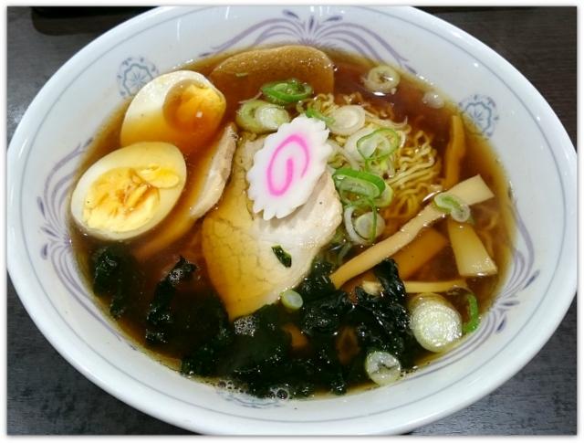 青森県 つがる市 じょっぱり食堂 ランチ グルメ 写真 ラーメン 昭和支那そば
