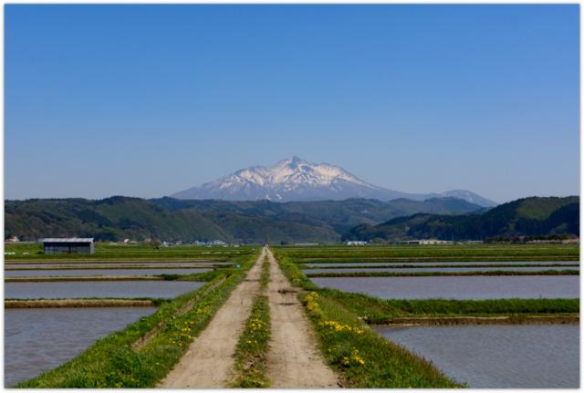 青森県 鰺ヶ沢町 岩木山 写真 今日の岩木山