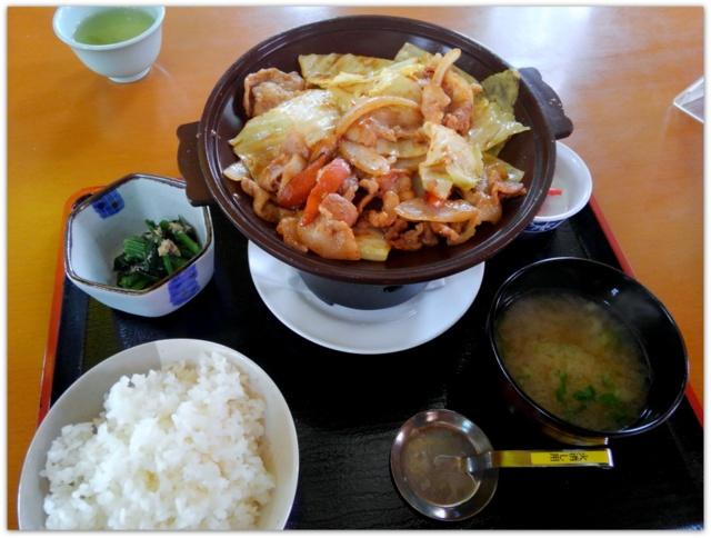 道の駅みさわ 斗南藩記念観光村 レストランくれ馬ぱ~く 斗南焼き定食 ランチ グルメ