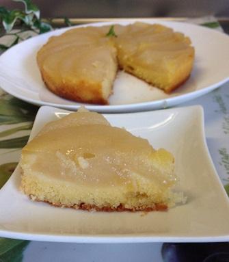 梨ケーキ2
