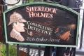 1603 ホームズ 博物館 看板