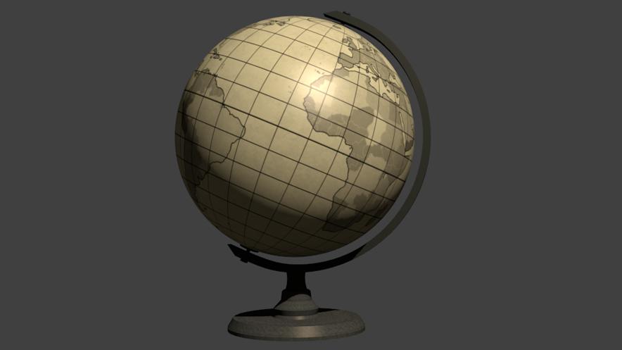 地球儀テスト884