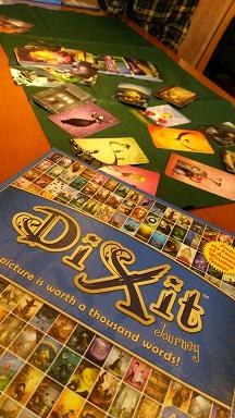 DiXit 絵が綺麗 これも1つの片付けです♪第5弾 ボードゲーム体験会
