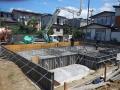 中山の家基礎打設