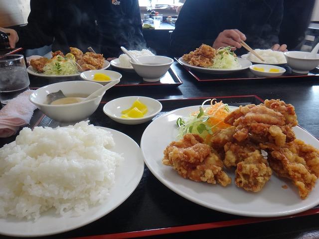 s-12:00からあげ定食780円