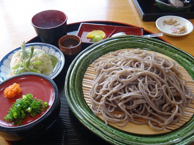 s-12:13天ぷら付ざる蕎麦1000円