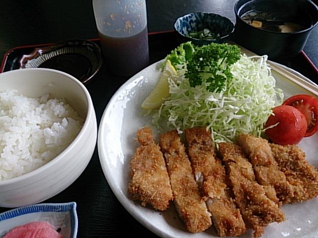 12:00豚カツ定食