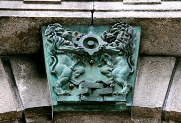 日本銀行紋章