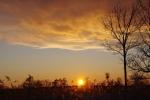 北斗の夕日