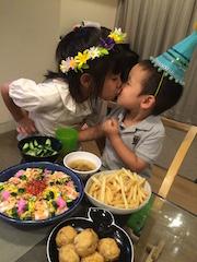 キュンタロ3歳誕生日