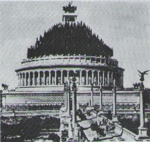 ハドリアヌスの霊廟復元図