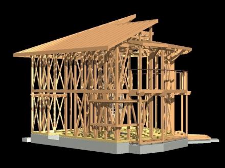 木軸3D 西-1