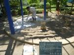 抗菌砂「トキサンドクリーン」散布
