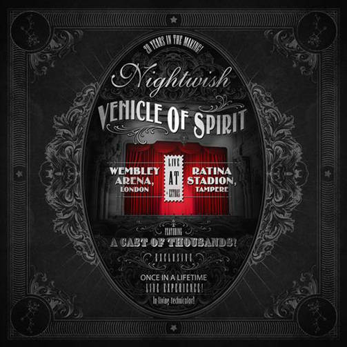 Nightwish DVD Vehicle Of Spirit kansi