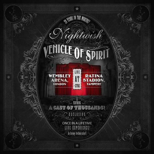 Nightwish DVD Vehicle Of Spirit kansi