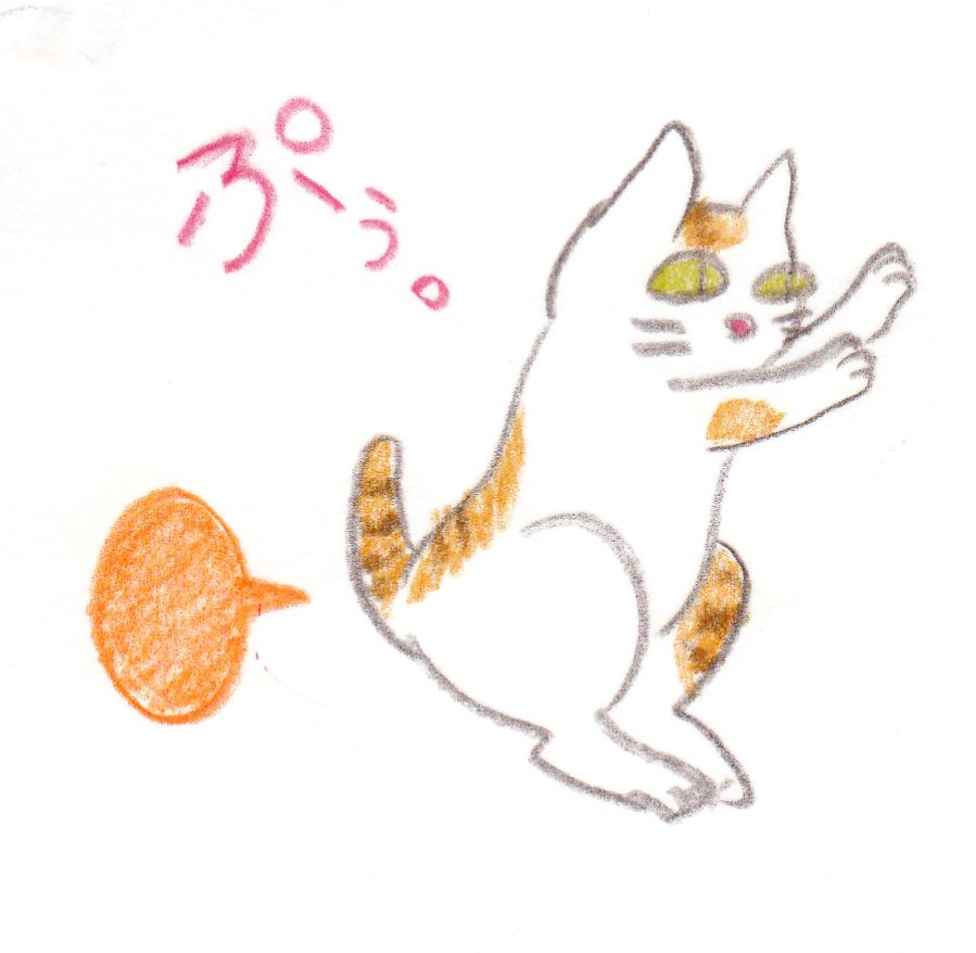オナラ ネコ