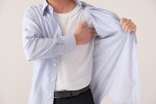 ワイシャツ 裾