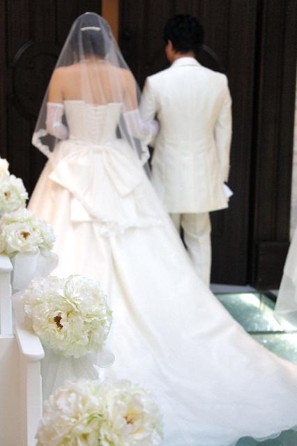結婚式 新郎 新婦
