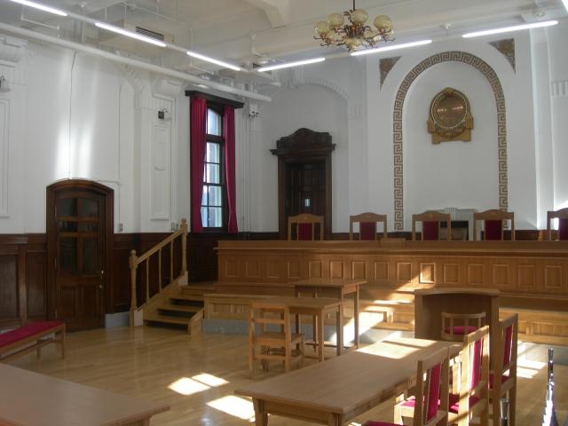 レトロな 裁判所