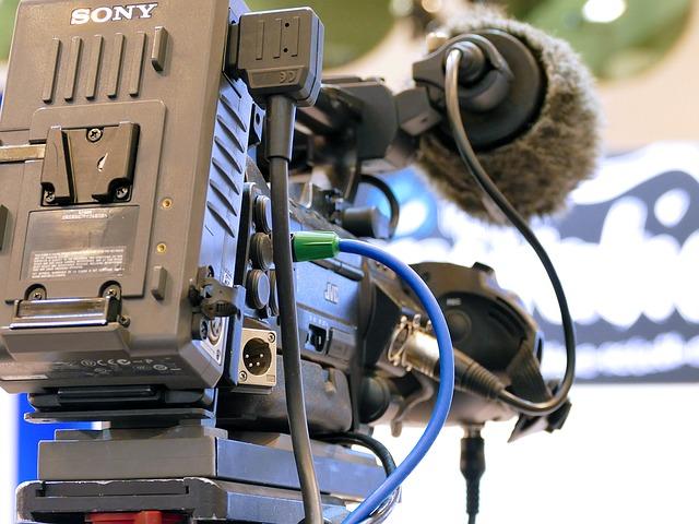 TV放送 カメラ