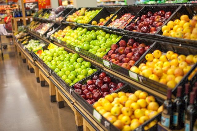 スーパーマーケット 野菜売り場 アメリカ