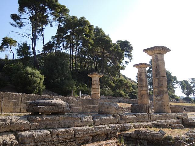 古代オリンピック ヘラ神殿