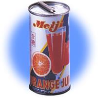 明治天然オレンジジュース