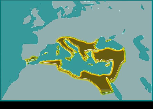 ローマ帝国 地図