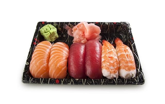 寿司 わさび