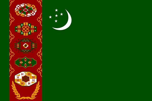 トルクメニスタン 国旗