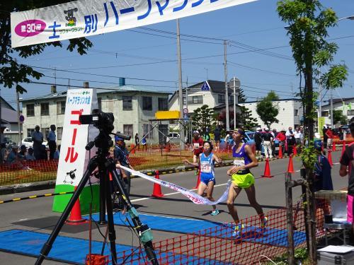 Marathon wnner