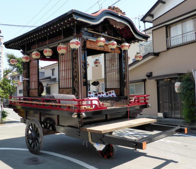 上町山車2