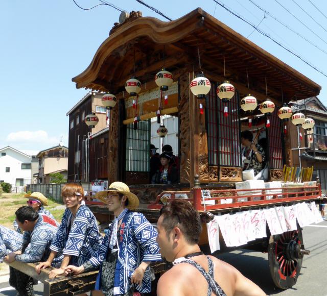 南田山車5