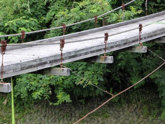 相賀谷川の吊橋5