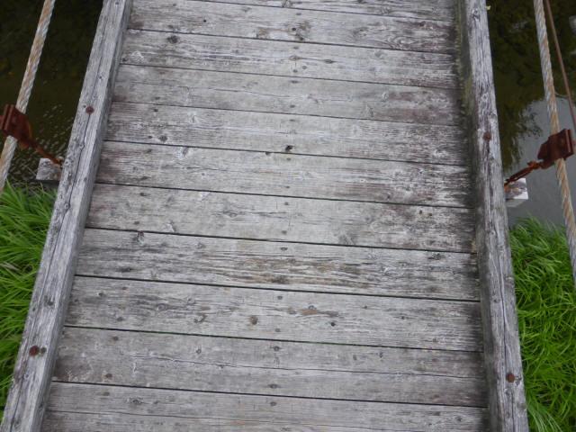相賀谷川の吊橋6
