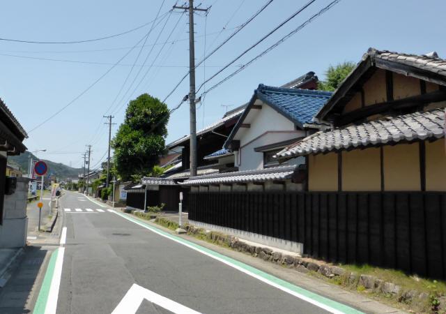 赤坂宿から藤川宿1