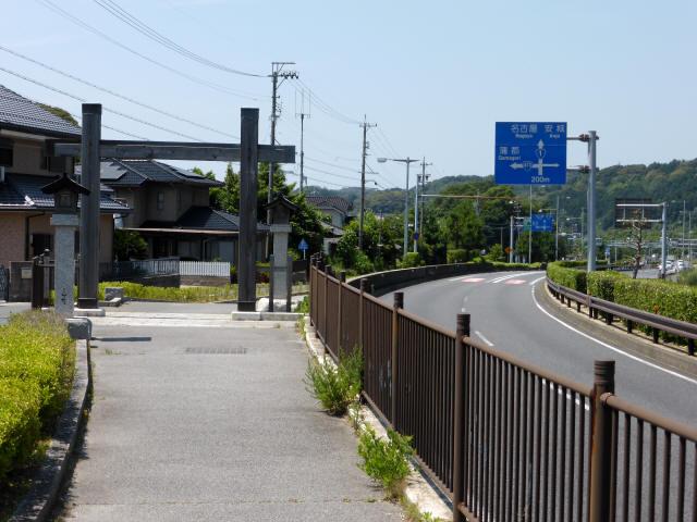 赤坂宿から藤川宿7