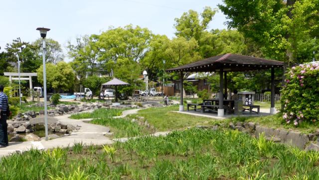 知立神社と池鯉鮒宿b