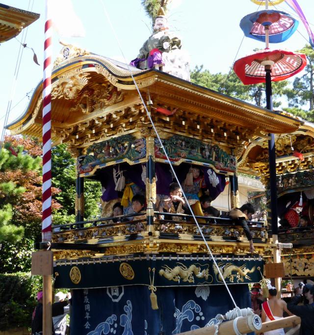 恵比寿の山車9