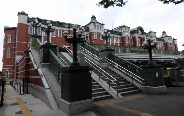 深谷駅(レンガ風建物)4