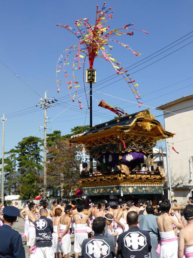 花の山車9