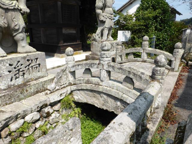 初八坂神社参道橋8