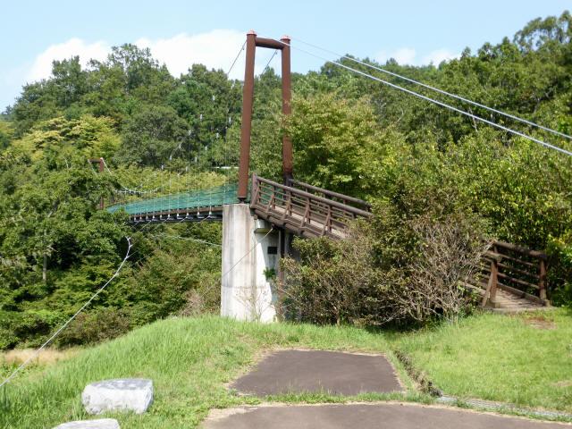 平成森林公園の吊橋8
