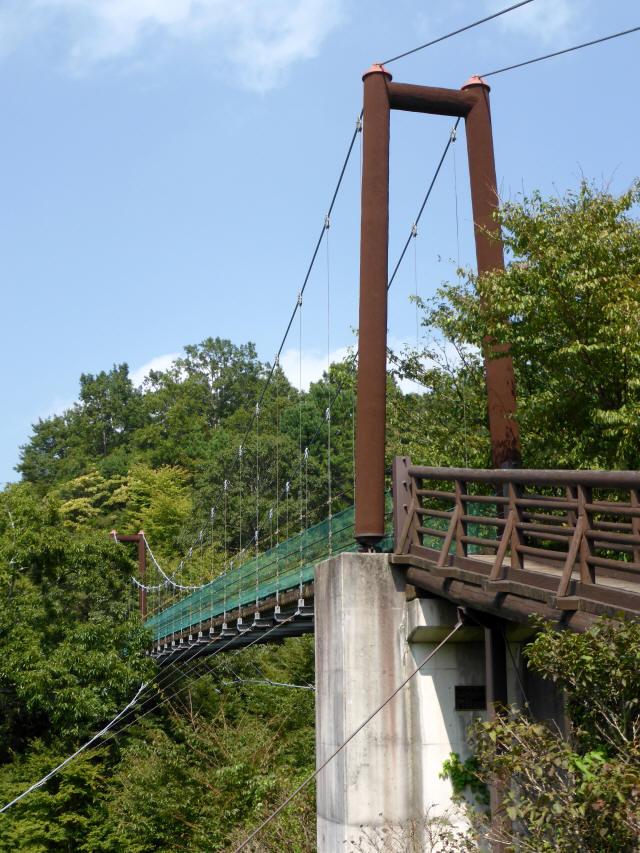 平成森林公園の吊橋0