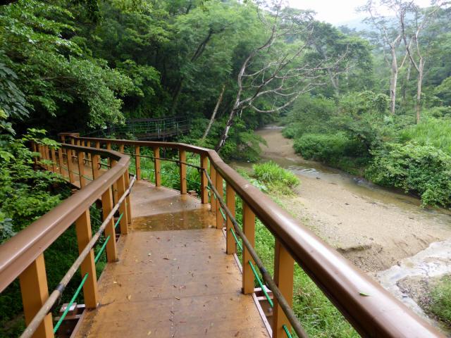 比地大滝つり橋2