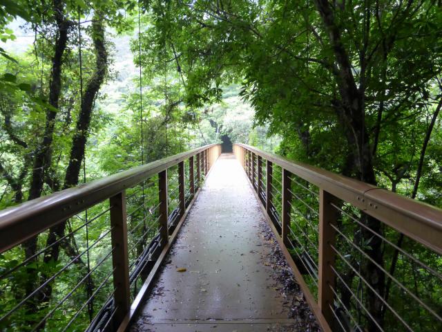 比地大滝つり橋3